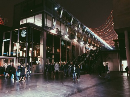 The Southbank Centre looked really sweet with all the Christmas lights and cafes